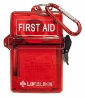 Lifeline Glove Box First Aid Kit - Red
