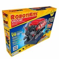 OWI Robotics Vroom! Stem V8 Model Combustion Engine, Multi - 1