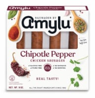 Sausages by Amylu Chipotle Pepper Chicken Sausage