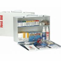 First Aid Only First Aid Kit,75 People,Metal,335 Comp. - 1