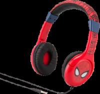 KidDesigns Marvel Spider-Man Youth Headphones - Red/Black