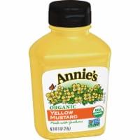 Annie's Organic Yellow Mustard
