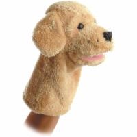 """Aurora Plush 10"""" Garth Dog Puppet - 02334"""