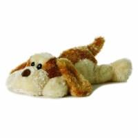 "Scruff the Plush Dog Flopsie - 12"" by Aurora - 06862"