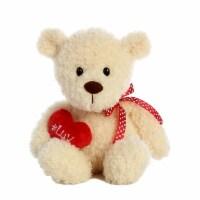 "#Luv 9"" Teddy Bear, Cream"