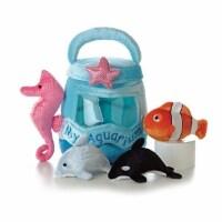 "Aurora Plush Baby 6"" My Aquarium Carrier with Sound"
