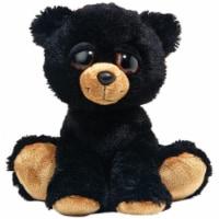 Barnam the Dreamy Eyed Black Bear Stuffed Animal by Aurora - 1