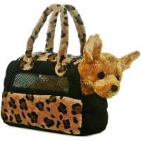 Aurora Plush Chihuahua Fancy Pals purse - 1