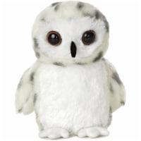 """Snowy Owl 8"""" Mini Flopsie by Aurora"""