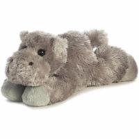 """Howie Hippo Mini Flopsie 8"""" by Aurora"""
