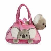 Aurora World Fancy Pals Plush Toy Koala Pet Carrier, Pink