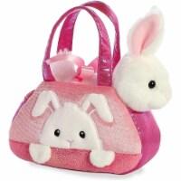 "Aurora World Inc. 7"" PEEK-A-Boo Bunny Fancy Pal Pet Carrier"