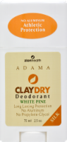 Zion Health White Pine ClayDry Deodorant
