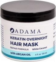 Zion Health  Adama Keratin Overnight Hair Mask White Coconut