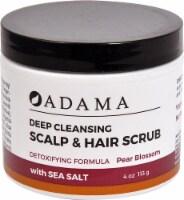 Zion Health  Adama Deep Cleansing Scalp & Hair Scrub Pear Blossom