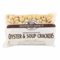 Westminster Cracker Co Oyster & Soup Crackers - Case of 12 - 9 OZ