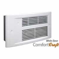 King Electric PX2417-WD-R 240V PX ComfortCraft Wall Heater - 1750W, White Dove - 1