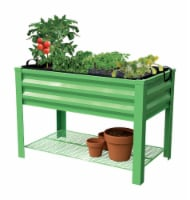 Panacea Products 32 in. H x 46 in. W x 24 in. D Steel Raised Garden Bed Green - Case Of: 1; - Count of: 1