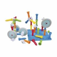 Playmonster 1594278 Lauri Action Stacker Little Builder Sets - Set of 62