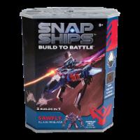 Snap Ships Sawfly Klaw Minelayer Building Toy