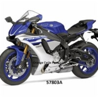 New Ray 57803A 2016 Yamaha YZF-R1 Motorcycle Model for 1-12 Scale  Blue  Pack of 12
