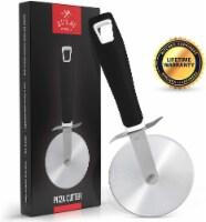 Pizza Cutter (SS) - Black - 1