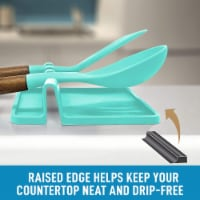 Utensil Rest w/ Drip Pad (Silicone) - Canyon Rose - 1