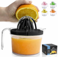 ZK Juice Reamer Cup with Handle - Black - 1
