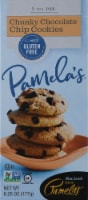 Pamela's Products  Cookies Gluten & Dairy Free Chunky Chocolate Chip