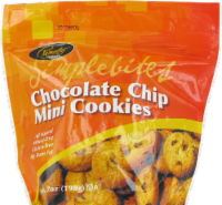 Pamela's Simple Bites Chocolate Chip Mini Cookies - 7 oz