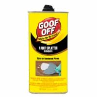 Goof Off Paint Splatter Remover