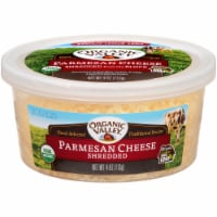 Organic Valley Shredded Parmesan Cheese