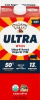 Organic Valley Ultra Whole Ultra Filtered Organic Milk