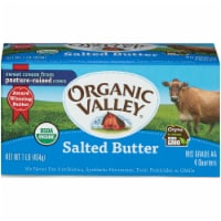 Organic Valley Quartered Salted Butter