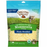 Organic Valley Finely Shredded Mozzarella Cheese