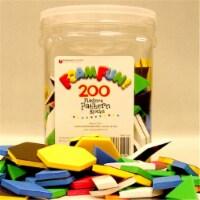 Foam Fun!™ Pattern Block Magnets, Pack of 200 - 1