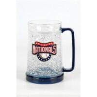 DuckHouse CMBBWAS Washington Nationals 16oz Crystal Freezer Mug