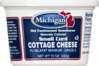 Michigan Small Curd Cottage Cheese - 15 Oz