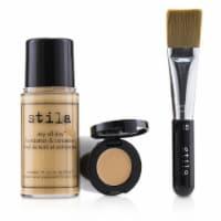Stila Stay All Day Foundation, Concealer & Brush Kit  # 6 Tone 2pcs - 2pcs