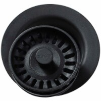 Elkay LKQD35CA 3.5 in. Polymer Disposer Flange with Removable Basket Strainer & Rubber Stoppe