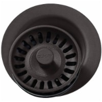 Elkay LKQD35MC 3.5 in. Polymer Disposer Flange with Removable Basket Strainer & Rubber Stoppe