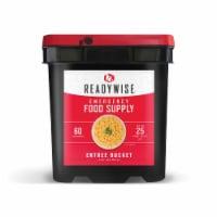 ReadyWise 01-160 ReadyWise Entree Black Bucket 60 Servings - 1