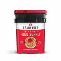 ReadyWise 01-121 ReadyWise 120 Serving Breakfast Only Grab and Go Bucket - 1