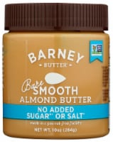 Barney Butter Bare Smooth Almond Butter - 10 oz