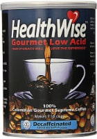 HealthWise  Colombian Gourmet Low Acid Supremo Decaffeinated Coffee