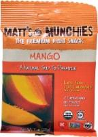Matt's Munchies  Premium Fruit Snack   Mango