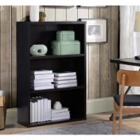 Design Mode BOO-KE-BL3C1 3 Shelf Wood Bookcase