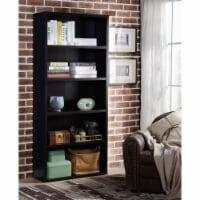 Design Mode BOO-KE-BL5C1 5 Shelf Wood Bookcase - 1