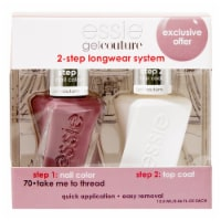 Essie Gel Couture 2-Step Longwear System 70 Take Me to Thread Nail Polish Kit