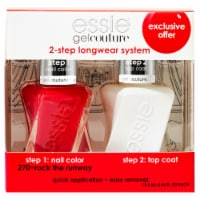 Essie Gel Couture 2-Step Longwear System 270 Rock the Runway Nail Polish Kit